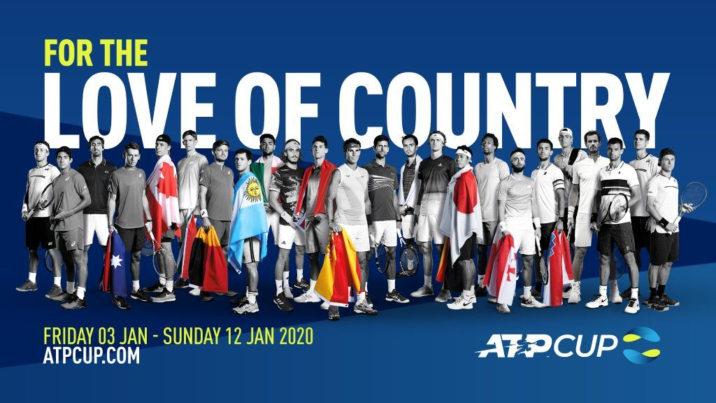 ATP Cup: Ci saranno anche le sfide di allenamento