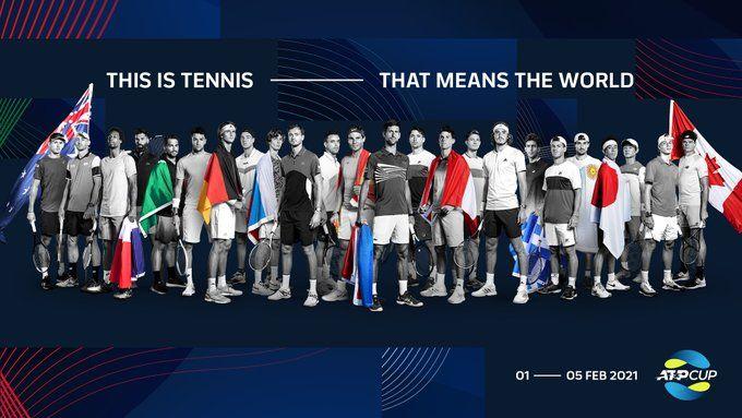 ATP Cup 2021: Questa notte alle 2 italiane il sorteggio. Presente anche l'Italia che sarà in seconda fascia