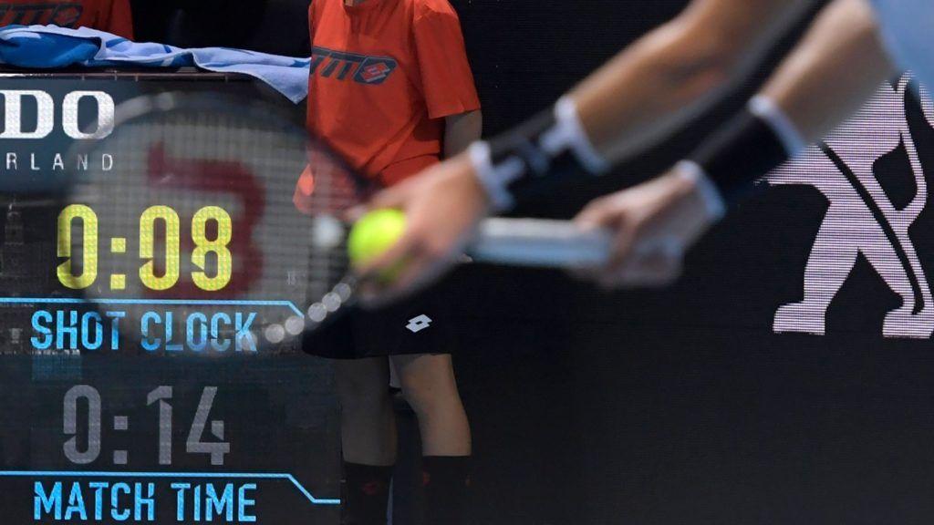 ATP: Dal prossimo anno sarà obbligatorio l'orologio in campo nei tornei del circuito maggiore
