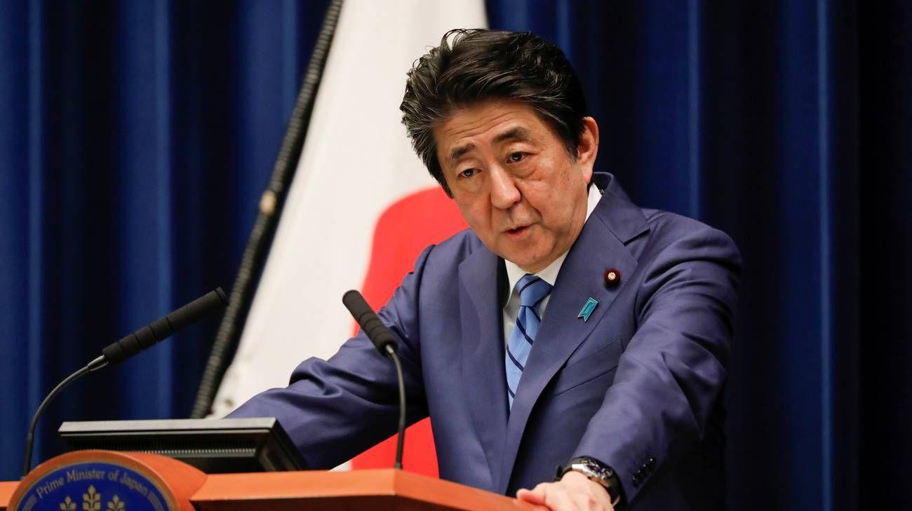 Il primo ministro giapponese Shinzo Abe