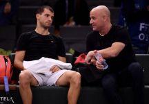 Grigor Dimitrov si allena con Andrea Agassi