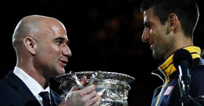 Sarà Andrea Agassi il nuovo allenatore di Novak Djokovic