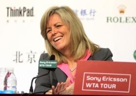 Stacy Allester è il Presidente WTA