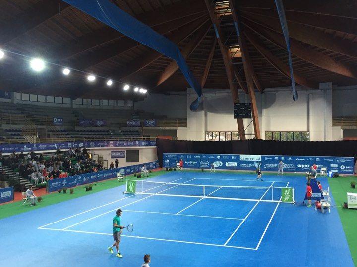 Il Campo Centrale del torneo di Andria