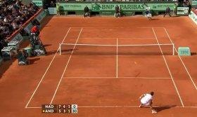 Palla corta imprendibile per Rafael Nadal