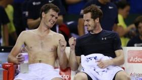 Jamie e Andy Murray