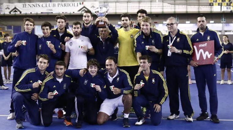 Il Circolo Canottieri Aniene si conferma per la seconda volta campione d'Italia