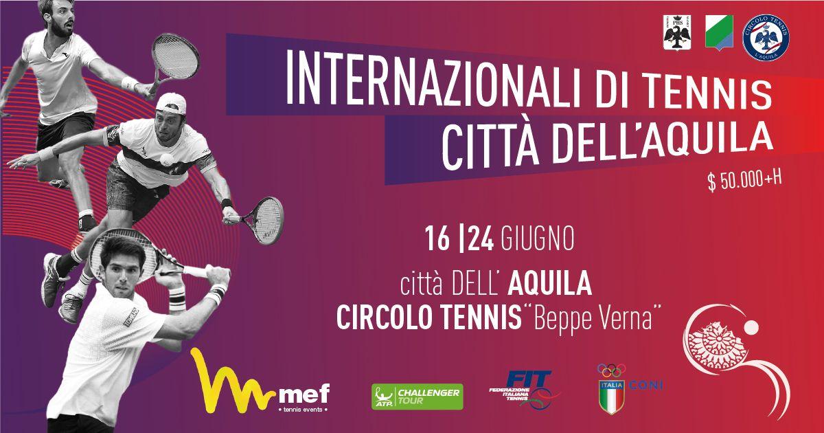 Il grande tennis internazionale fa il bis in Abruzzo con MEF tennis events