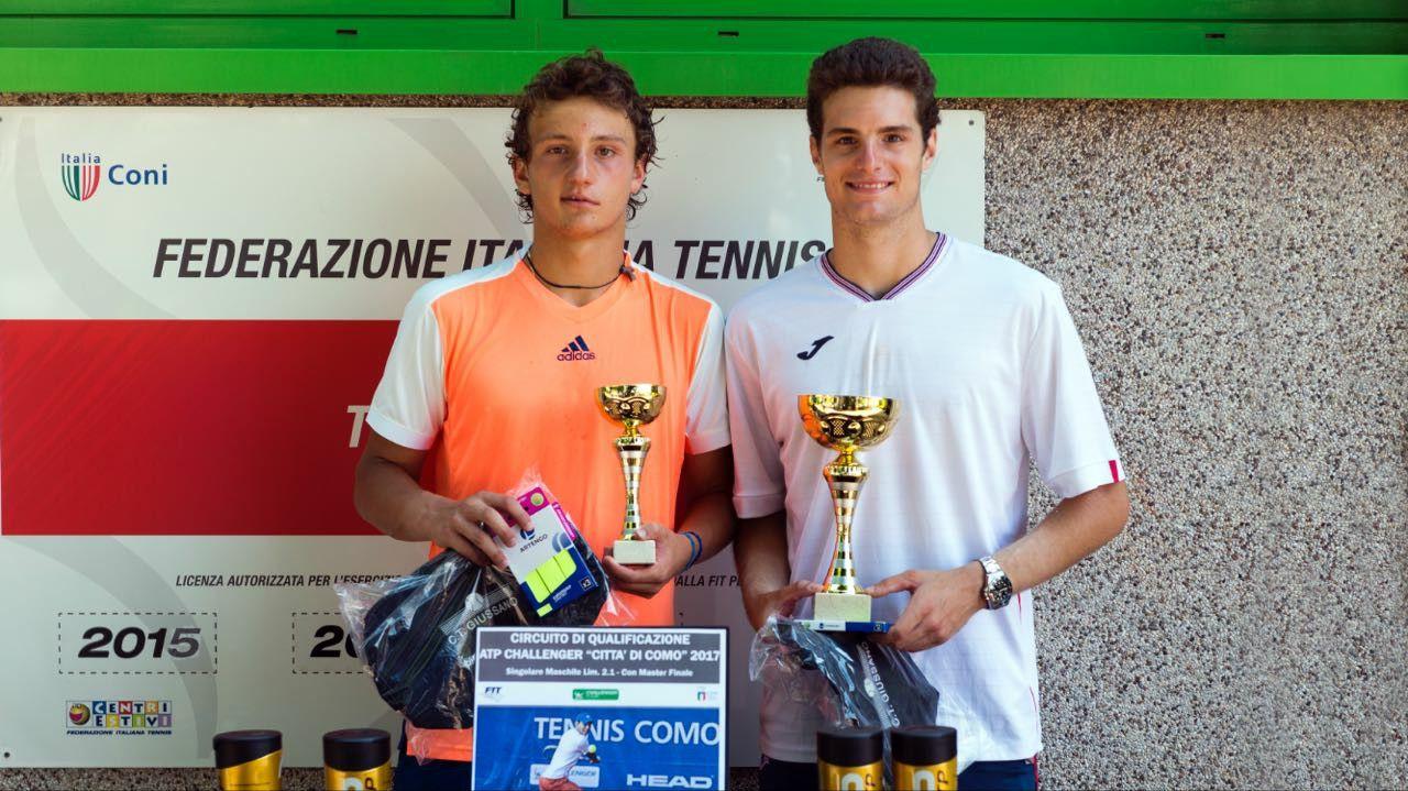 Nel torneo di Giussano si sono qualificati Coppini e Federico Arnaboldi