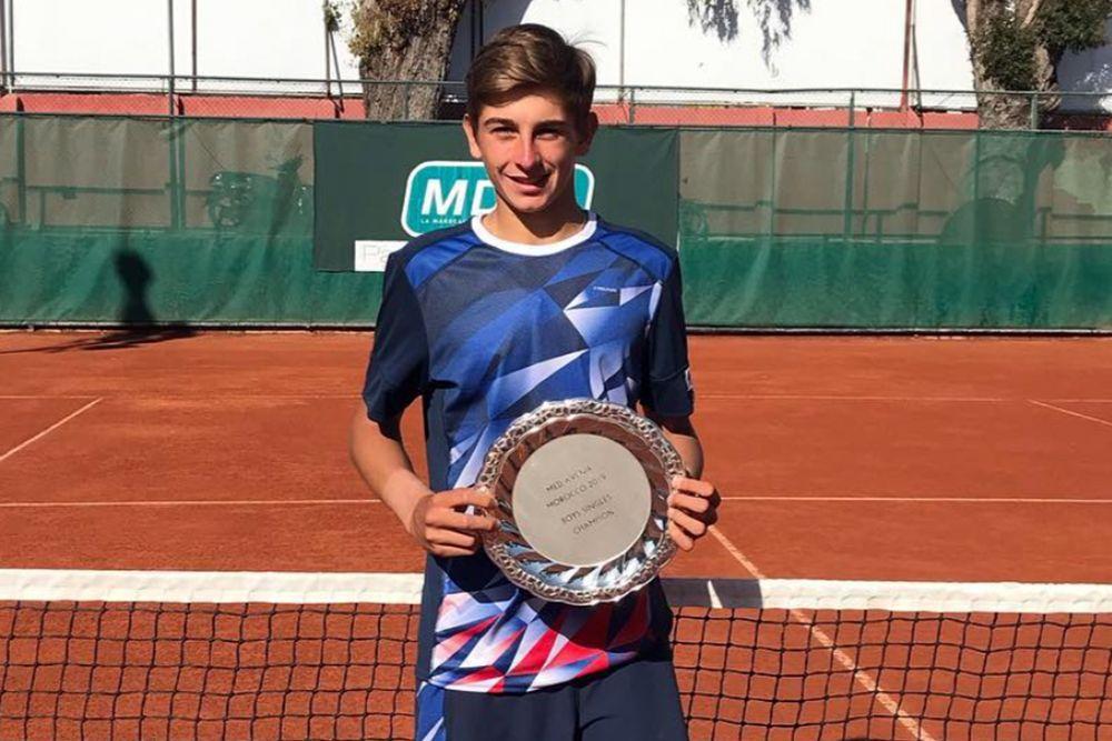 Matteo Arnaldi, sanremese classe 2001 della Milano Tennis Academy, ha vinto a Casablanca (Marocco) il Mediterranée Avenir, torneo Itf juniores di Grado 1