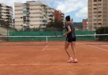 Video del Giorno: Tennis-Calcio per Lara Arruabarrena