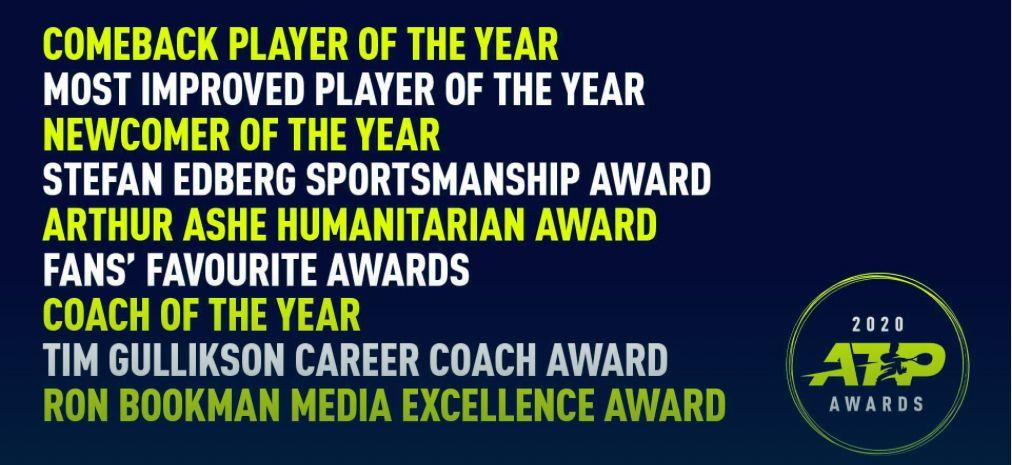 ATP Award 2020, le categorie