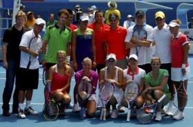 I Big del tennis in aiuto delle popolazioni colpite dall'alluvione in Australia