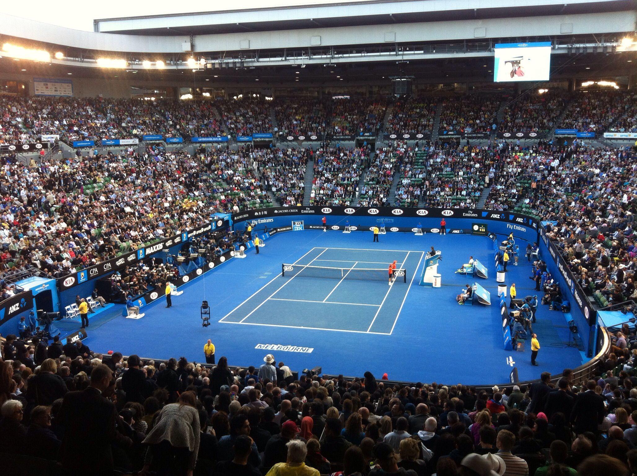 Presenze Spettatori Slam-Masters 1000 2017: Australian Open batte tutti. Indian Wells il 1000 con più presenze. Madrid di poco sopra Roma