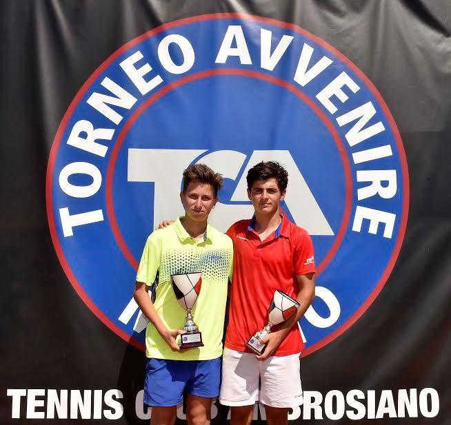 Torneo Avvenire - Finali: Lingua-Lavallen e Vidmanova trionfano al Tc Ambrosiano - Foto Francesco Panunzio