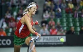 La Fed Cup 2015 - Victoria Azarenka decisiva per la vittoria della sua Bielorussia