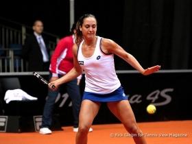 Gioia Barbieri in campo per il Tennis Club Cagliari