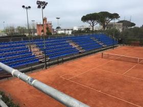 Il campo centrale del torneo di Barletta
