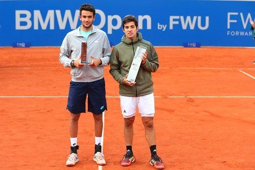 Berrettini e Garin, finalisti della scorsa edizione