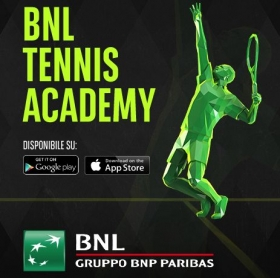 BNL Tennis Academy è un App disponibile per iPhone e Android.