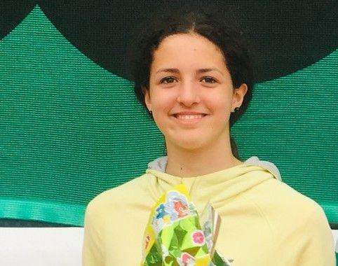 Vittoria Baccino nella foto