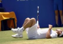 Video del Giorno: Marcos Baghdatis sviene ad Antalya per un colpo di calore e poi si riprende (ma si ritirerà)