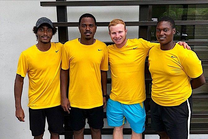 La squadra di Davis Cup delle Bahamas