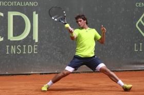 Il 18enne lombardo Filippo Baldi ha conquistato a Milano la sua prima vittoria in carriera a livello challenger - Foto Paolo de Matteo