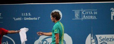 Challenger Andria: Il programma delle semifinali. Filippo Baldi sfida Uladzmir Ignatik