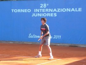 Filippo Baldi classe 1996, n.74 del ranking Under 18