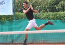 """Una settimana da sogno per Stefano Baldoni: """"spero di diventare un tennista professionista"""""""
