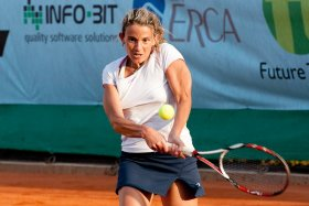 Elisa Balsamo in semifinale a Bagnatica - Foto GDVPixel