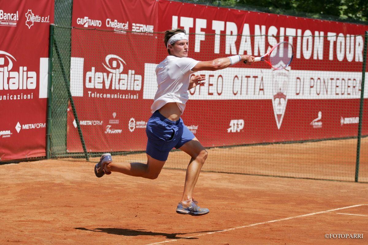 Riccardo Balzerani nella foto