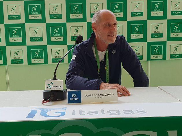 Corrado Barazzutti nella foto