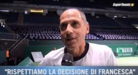 Corrado Barazzutti Capitano dell'Italia di Fed Cup