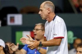 Corrado Barazzutti capitano di Davis e Fed Cup dell'Italia - Foto Costantini