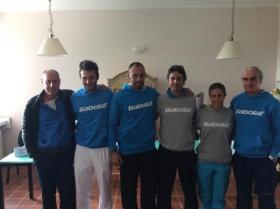 Corrado Barazzutti, Mattia Mannocci, Manuel Ribeca, Gianluca Zaccara, Simona Tozzi, Massimo Perni