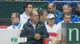 Corrado Barazzutti Capitano dell'Italia in Davis Cup e Fed Cup