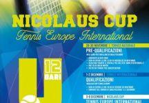 Nicolaus Cup Under 12:  Tennis Europe International Bari. i migliori atleti internazionali under 12, si sfideranno a colpi di racchetta per aggiudicarsi la prima edizione del Trofeo Nicolaus Cup