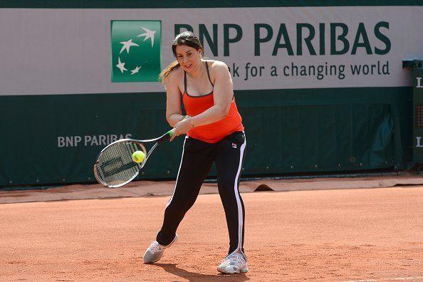 Marion Bartoli nella foto