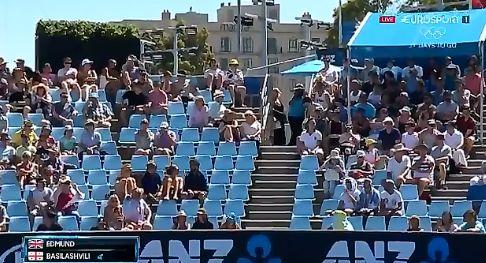 Video del Giorno: Nikoloz Basilashvili come commettere un doppio fallo fuori dal campo (Home Run)