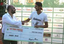 Future Pontedera: Successo di Andrea Basso. Il  tennista genovese succede nell'albo d'oro della terza eduzione del Trofeo Devitalia a Lorenzo Giustino