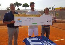 Emanuele Bastia conquista la prima wild card della Tennis Napoli Cup
