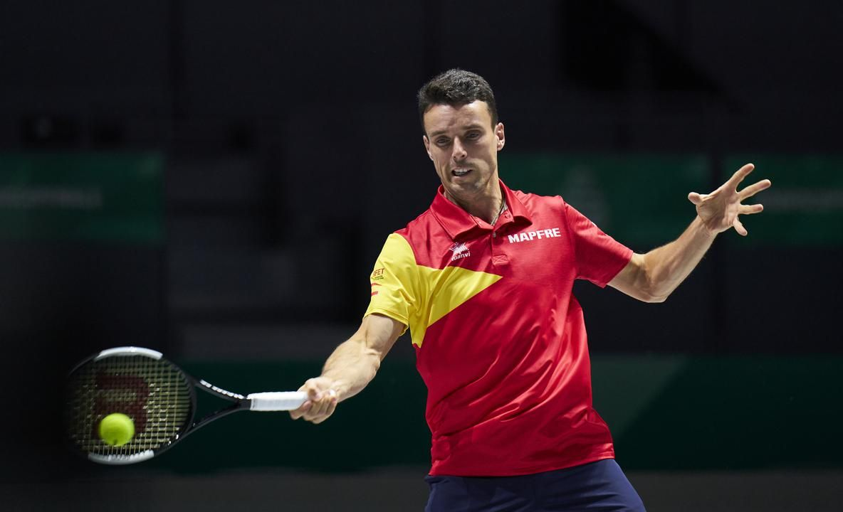 Roberto Bautista Agut (Photo by Diego Souto / Kosmos Tennis)