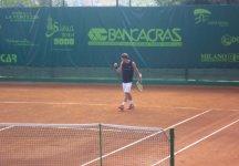 Challenger Napoli: Riccardo Bellotti fermato al secondo turno
