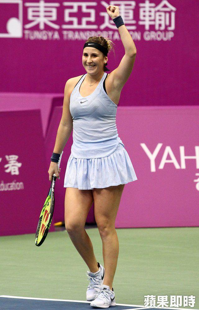 Belinda Bencic nella foto