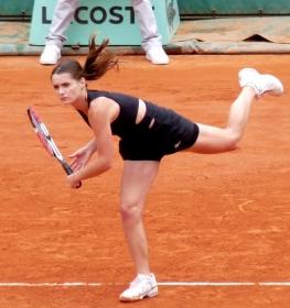 Iveta Benosova classe 1983, best ranking in singolare n.25 del mondo