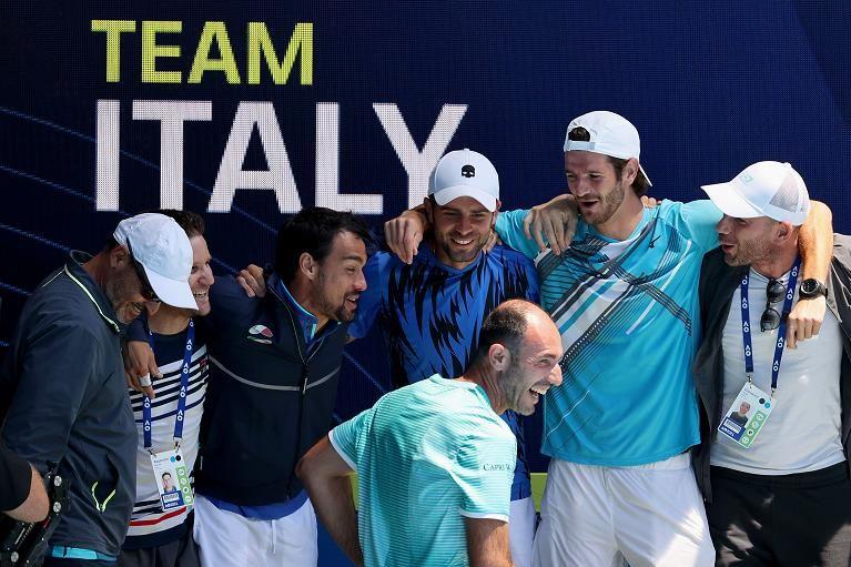 La squadra italiana in ATP Cup