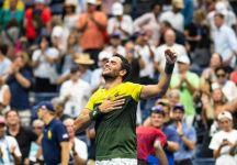 """Open Court: Lo sguardo di Matteo Berrettini, quello di """"uno che vince"""" (di Marco Mazzoni)"""