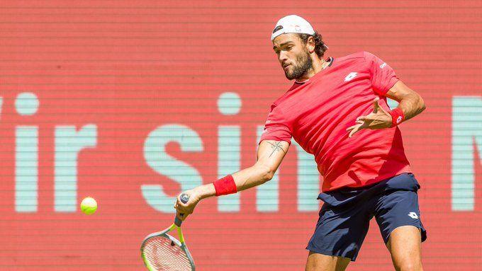 Matteo Berrettini ITA, 1996.04.12 -  Copyright : Ultimate Tennis Showdown - https://watch.utslive.tv